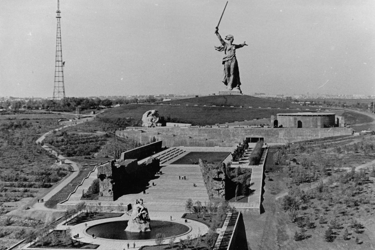 История Волгограда и Волгоградской области, история ... мамаев курган высота